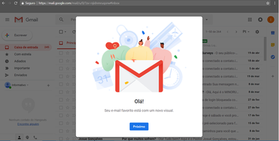 Google lança nova interface para o Gmail