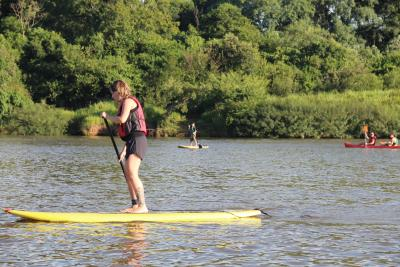 Prova de Stand Up Paddle movimentará Parque da Lagoa